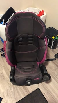 Booster Seat with cup holder  65 km