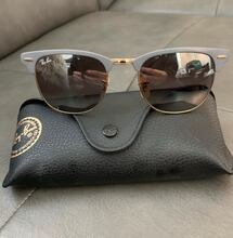 Authentic Ray ban club master sunglasses