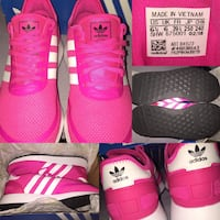 pair of pink Adidas sneakers Indianapolis, 46231