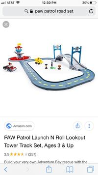 Paw patrol launch n' roll lookout tower  Stafford, 22556