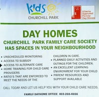 HOME DAYCARE Chestermere