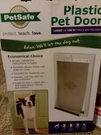 PetSafe Dog doors. Large & medium.  Six for sale.  Southfield, 48034