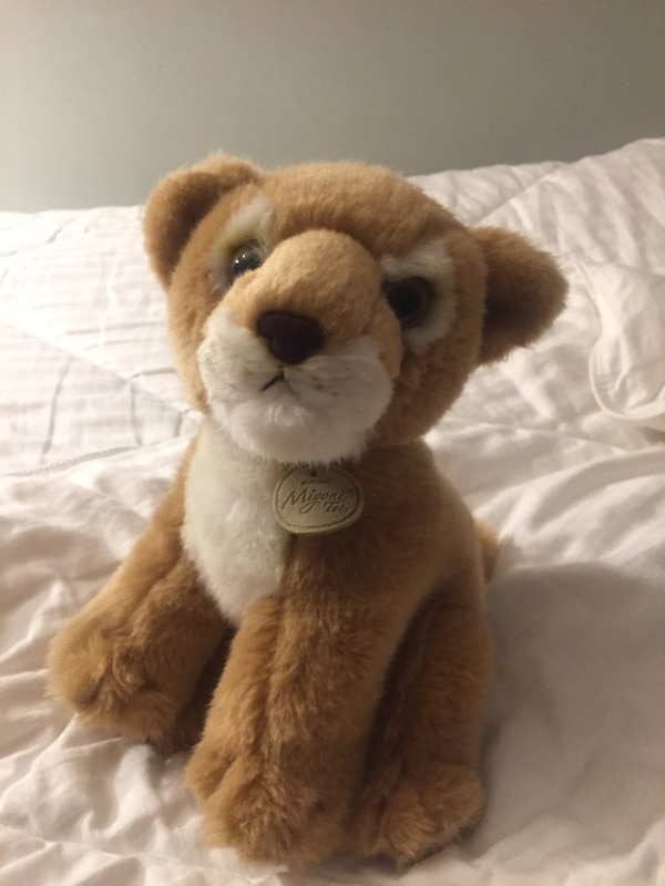 Adorable Plush Lioness