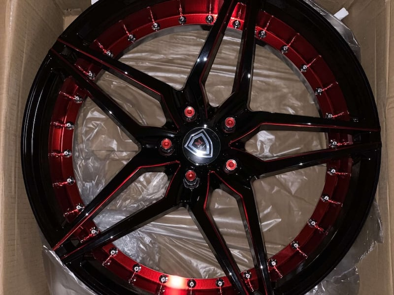 """Marquee 20"""" Rims and Tires 1d69bf0c-3f80-4448-80f1-179f07ca08f0"""