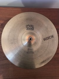 Paiste Vintage 2002 Black Label Heavy Hi Hats 14 - 1970's MONTREAL
