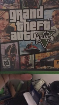 Grand theft auto five xbox one game case Milpitas, 95035