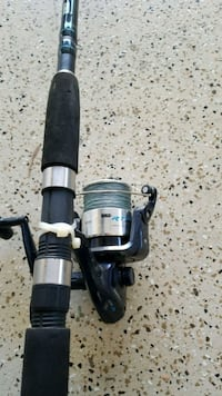 Fishing rod and reel ,Zebco San Diego, 92127