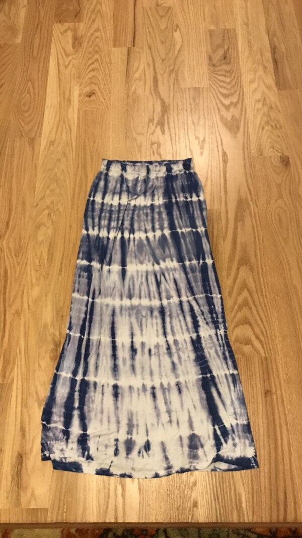 9bd5621bf2 Used Tie Dye blue and white small/tall skirt for sale in Deerpark - letgo
