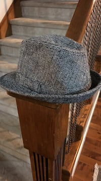 gray fedora hat Langley, V2Y