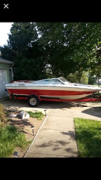 white and red speed boat Springfield, 22153