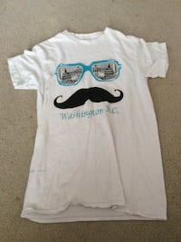 White washington-printed crew-neck t-shirt Gibraltar, 48173