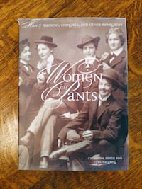 Women in Pants Hard Cover Book