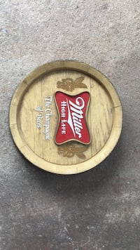1960's miller high life wall decoration