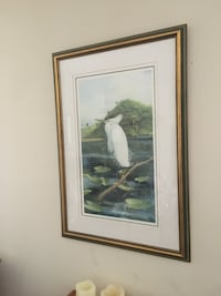 Bird picture with frame Hagerstown, 21740
