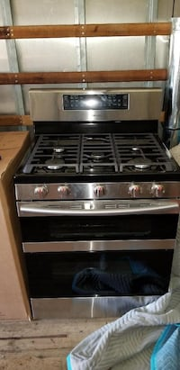black and gray gas range oven Frederick, 21702
