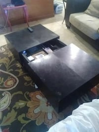 black and gray wooden coffee table Port St. Lucie, 34952