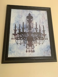 Chandelier Wall Decor Sherwood, 72120