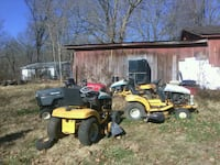 ,9 riding mowers and all runs but 1 Evansville, 47712