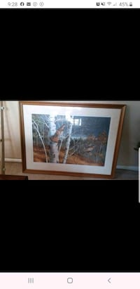 Rare Limited Edtion Framed 20×30 Maynard Reece  Print Shepherdstown, 25443