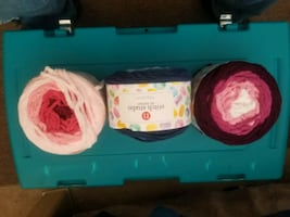 Blanket Yarn for sale 11 big  balls