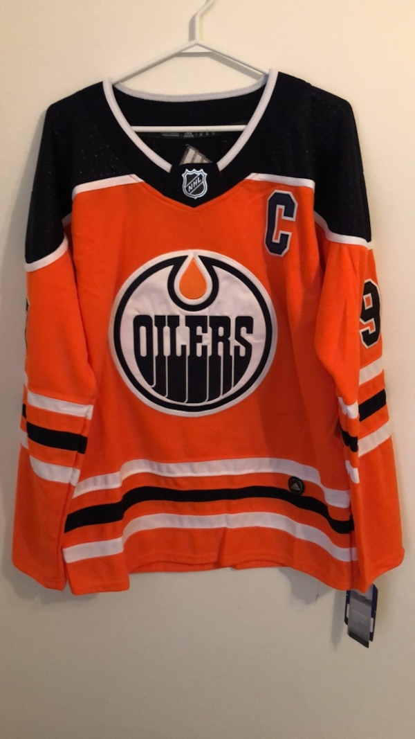cheap for discount 26849 5663a Brand New Connor McDavid Jersey