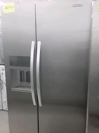 Kitchenaid side by side refrigerator stainless steel in good condition Elkridge, 21075