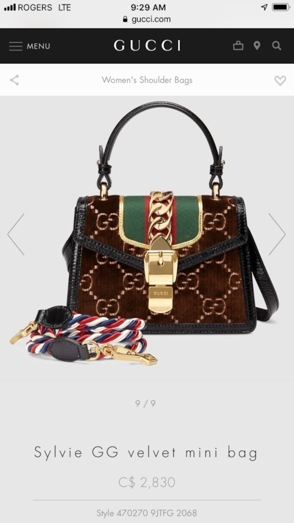 bb118fd31ff Used Gucci top handle for sale in Vaughan - letgo