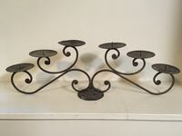 Wrought Iron 6 Candle Holder Vancouver, V6G 2C9