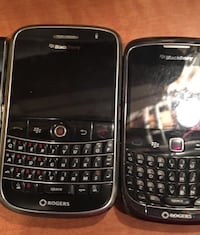 two Blackberry qwerty phones