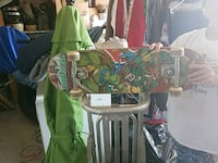 green and brown wooden rocking horse 26 km