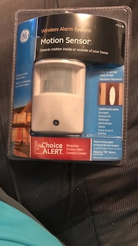 Wireless Alarm System. Motion Sensor. Easy to set up and use. North Prince George, 23860