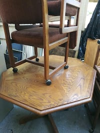 brown wooden table with chair Novato, 94947