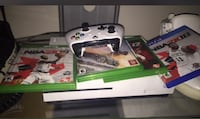 white Xbox One with controller and game cases Warren, 48091