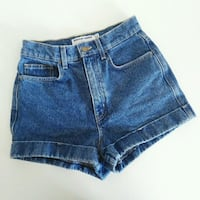 American Apparel Denim Shorts Toronto