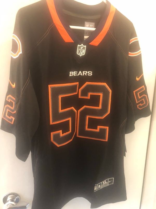 Khalil Mack Chicago bears Nike nfl jersey xl! On field retro edition Nwt! 1ff2ab200