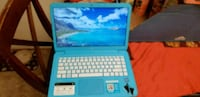 blue and white HP laptop Milford Mill, 21244