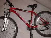 red and black hardtail bike Bellevue, 98005