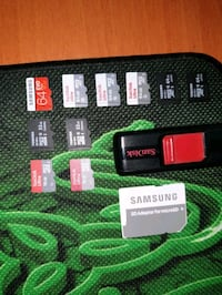 SATILIK MICRO SD VE USB 64 FLASH BELLEK