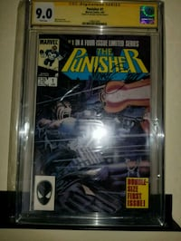 Cgc graded the punisher number 1 and poster! Lexington, 40517
