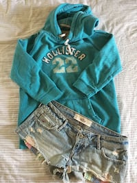 Hollister Sweater and Shorts Toronto