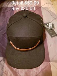 black and brown leather cap Phoenix, 85021