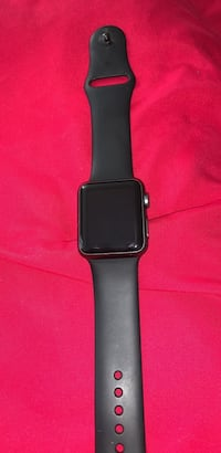 Series 1 Apple Watch. Got a new one. Comes with charger