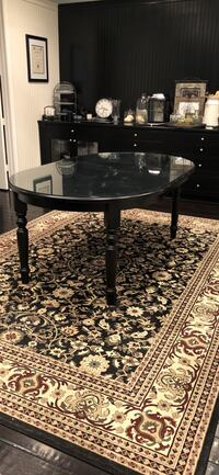 round black wooden coffee table San Clemente, 92673