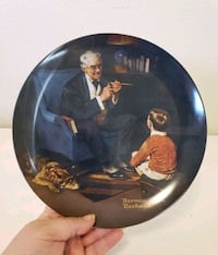 """Norman Rockwell's """"The Tycoon"""" Collectors Plate  Santa Rosa, 95404"""