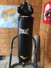 Heavybag, stand, & gloves Rockwall, 75032