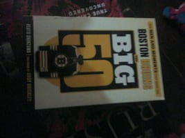 Boston bruins NHL book brand new never red