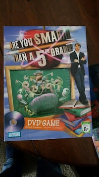 Are you Smarter Than a 5th Grader DVD game