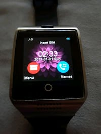 black smartwatch with black strap Los Angeles, 91356