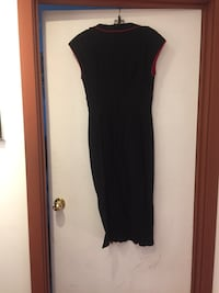 black scoop-neck sleeveless dress Surrey, V3V 4Y7