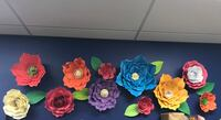 three yellow, pink, and blue flower decors Eastvale, 92880